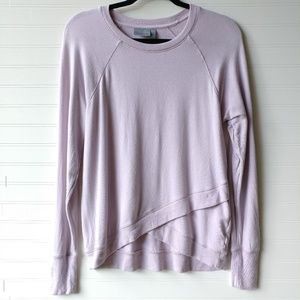 Athleta Lightweight Sweater Layered Lavender